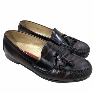 Cole Haan Tassel Penny Loafer Shoes Brown 03507